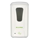 Hands-Free Liquid Hand Sanitizer/Soap Disp, 1200 mL, 6 x 4.48 x 11.1, White